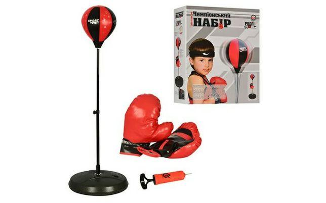 боксерский набор на стойке