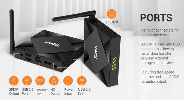 Tv Box Tanix TX6s 8K 4GB RAM 32GB Android 10 Google Assistant