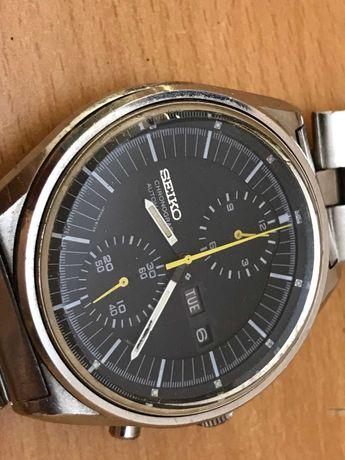 Ceas seiko 6138 automatic chronograph diam 43mm cu defect
