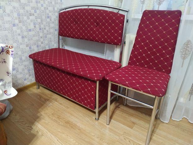 Кухонное кресло -скамейка со стулом