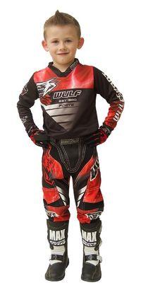 Costum motocross atv copii Forte Wulfsport-si in rate fixe prin TBI