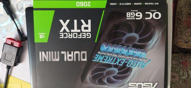 Продам видеокарту, ASUS RTX 2060 DUAl OC
