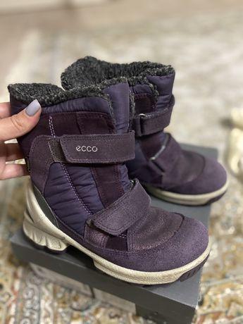 Детские зимние сапоги ECCO