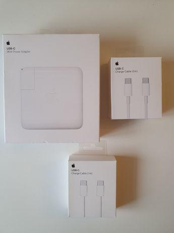 "Incarcator MacBook Pro 16"" 96W ORIGINAL APPLE + Cablu USBC-USBC 2m"
