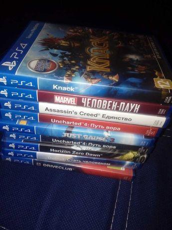 Продаються диски  для приставка Sony PlayStation  в новом состоянии.