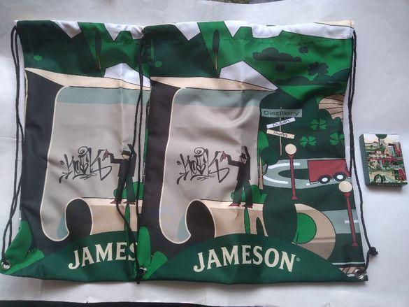Нови Jameson брандирани ранички тип мешка и тесте карти