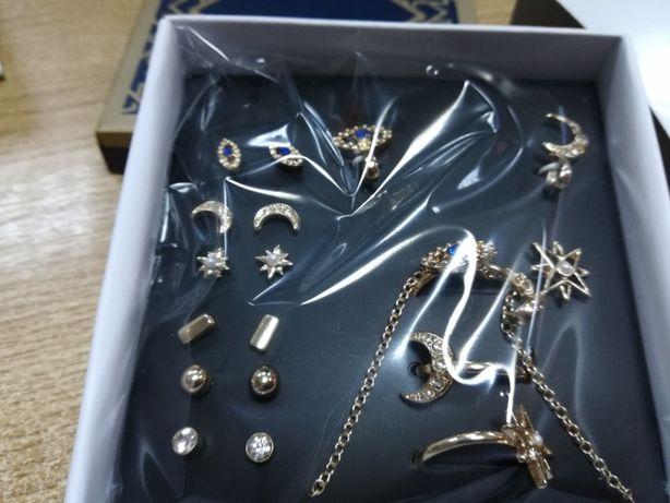 Set 12 bucăți - cercei și inele plus un colier Makenn Avon