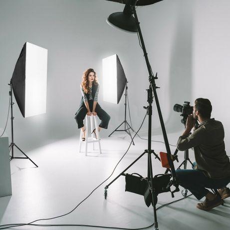 СОФТБОКС 2бр. студийно осветление за продукти, видео и фотография.