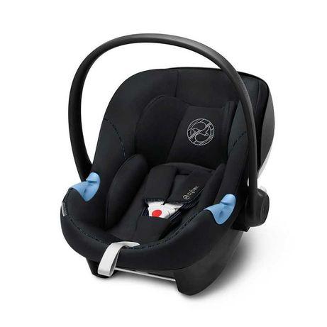 Scoică auto Aton 5, Deep Black, Cybex, transport bebe
