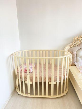 Детская кровать, манеж 8 в 1!