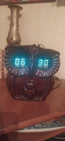 Сувенирные часы сова СССР