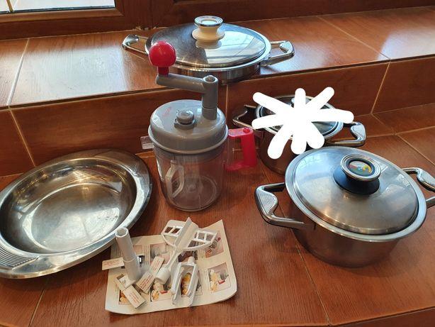 Посуда Zepter (кастрюля 3л, сковорода + блюдо, комбайн)