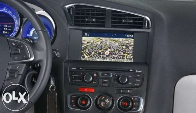 Hărți navigație Citroen Peugeot eMyWay (RT6) Europa România 2020/2021