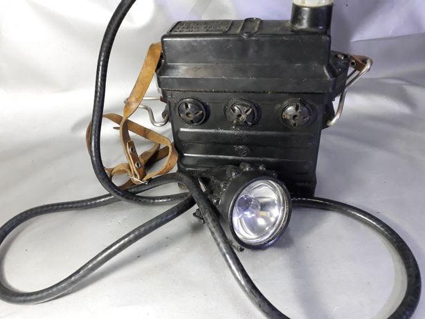 Lampă de miner Veche de colecție original