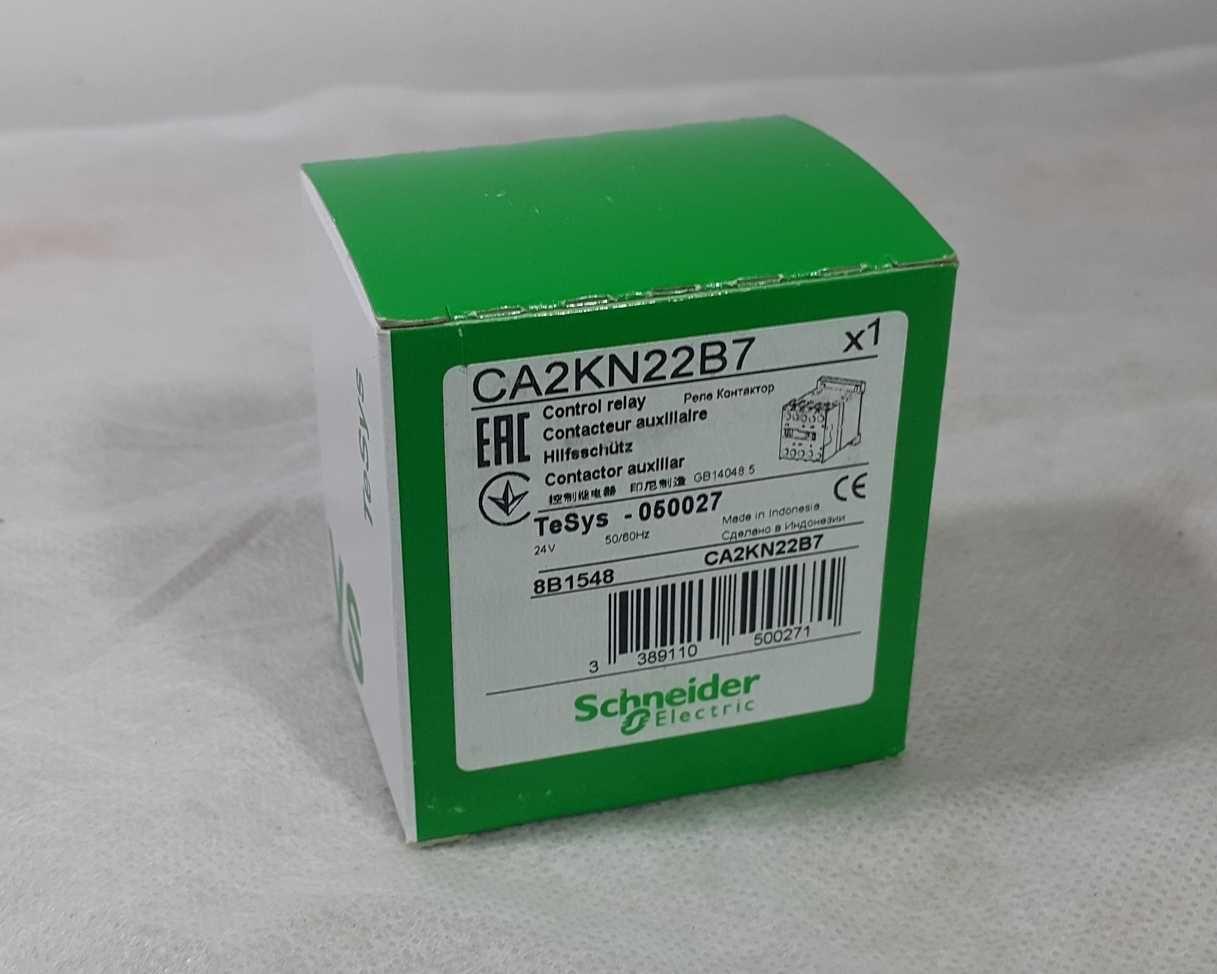 Contactor TeSys CA2-K, 2 NO + 2 NC, instantaneu, 10 A, 24 V c.a., CA2K