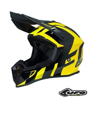 "Casca Motocross Enduro UFO Quiver ""Shedir"" Marimea L"