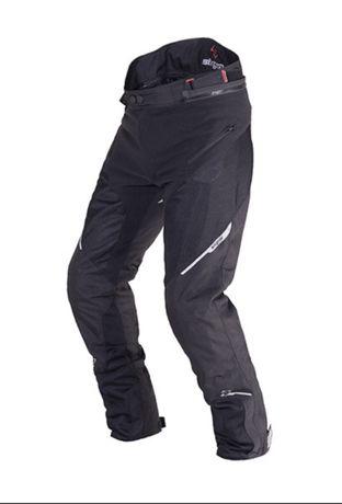 Pantaloni moto textil SixGear Drake cu mesada ploaie/vant