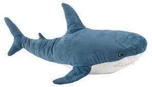Мягкая игрушка акула БЛОХЭЙ ИКЕА, 100см.