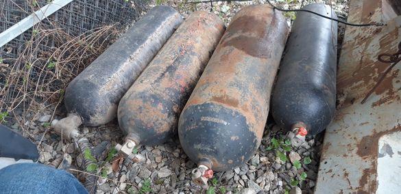 Метан бутилки