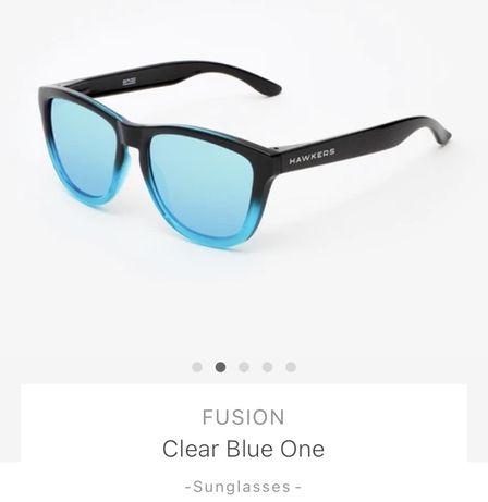 Ocehlari de soare HAWKERS Fusion clear Blue one