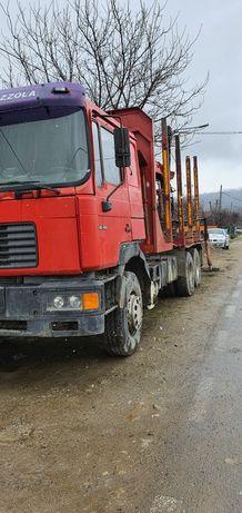Camion forestier Man Silent 26.414