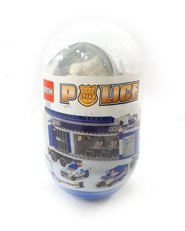 DYI_6in1 City POLICE SET_6 capsule_1189ps_ MEGACamion_ compatibil lego