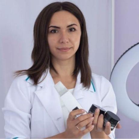 Косметолог ,чистка лица Массаж пилинг