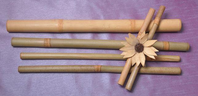 Bete de bambus dimensiuni diferite