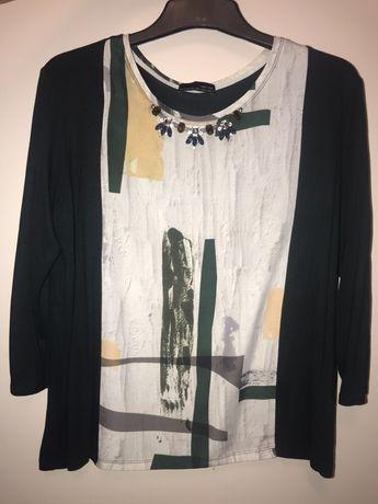 Bluza cu colier Zara L
