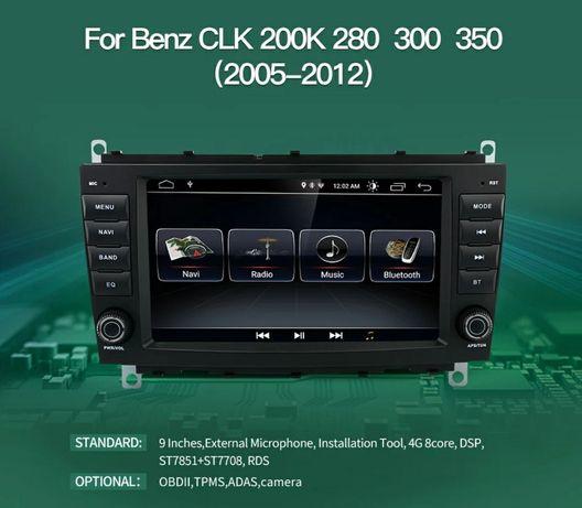 Мултимедия Мерцедес W203 CLC навигация Mercedes CLC GPS Navigation