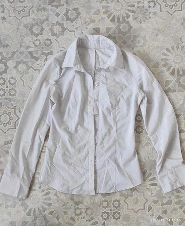 Белые блузки-рубашки