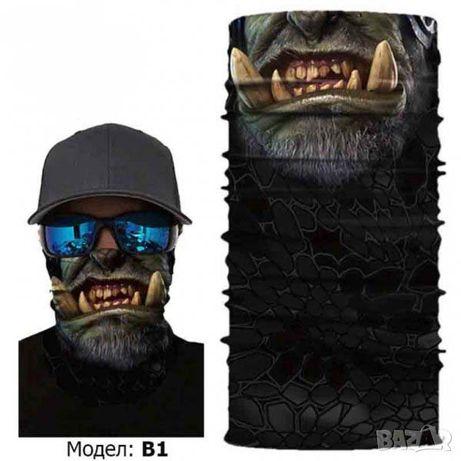Бандана - Маска за Лице Faceshield Face Shield Маски Шал Airsoft