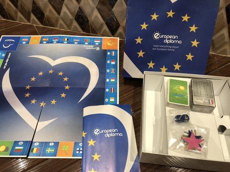 European Diploma-Нова Настолна Игра-Европейска диплома