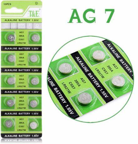 Продам новые батарейки AG7 для ручных часов
