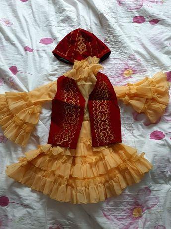 Казахское национальное платье 3-4лет Казакша улттык койлек