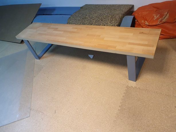 Banca sau blat lemn fag 200x40x4 cm