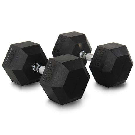 gantere hexagonale 30 kg (2x 30 kg)