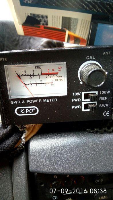 Calibrez antene statie cb 15 lei.