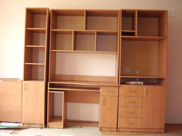 mobila (biblioteca, birou)