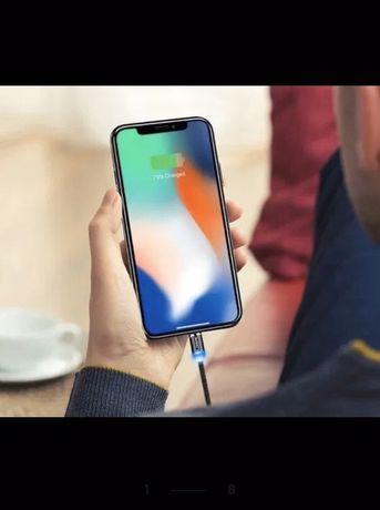 Магнитно зарядно магнитен кабел микро USB ,Micro USB ,Type-C, Iphone