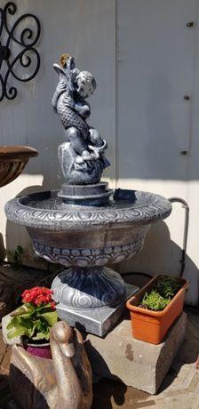 Fantana arteziana F 10, ornament gradina / fantani din beton