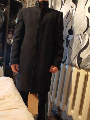Пальто черный мужские