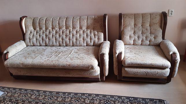 Мягкая мебель  в хорошие состоянии