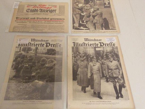 Colectie ziare germane din WW2