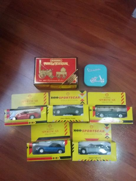 Masinute vechi Shell collection Matchbox limited Vespa