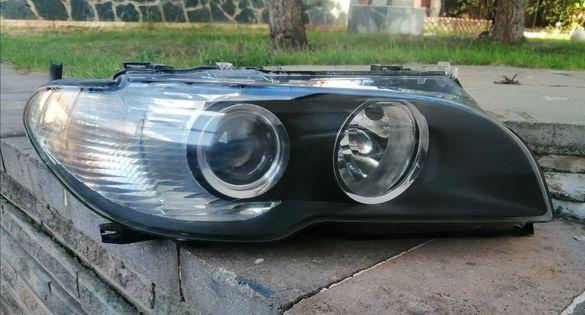 Десен фар ксенон с баласт за е46 купе / кабрио фейслифт