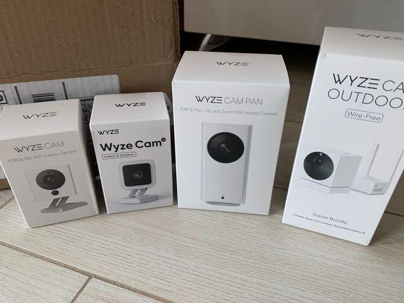Камери Wyze Cam, v2, v3, Cam Pan, Cam Outdoor IP камера, бебефон