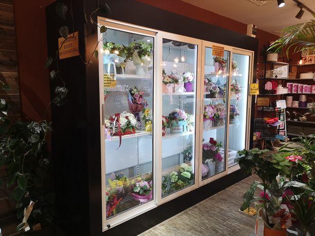 Vitrina frigorifica florărie, pentru păstrarea florilor