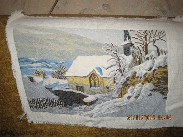 Гоблен - Зимна картина