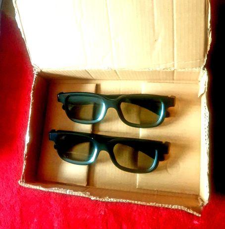 2 Perechi Ochelari 3D (NOI) , pt. vizionare Filme 3D